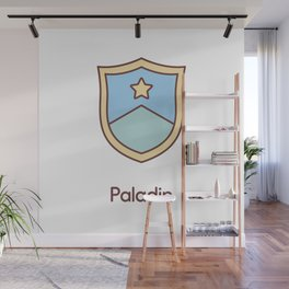 Cute Dungeons and Dragons Paladin class Wall Mural