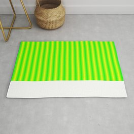 Yellow and Green Gradient Rug