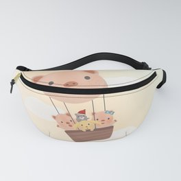 Let's dream big and fly high! Fanny Pack