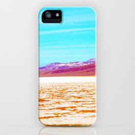 Death Valley Rainbow iPhone Case