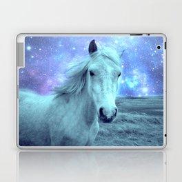 Celestial Dreams Horse Periwinkle Lavender Aqua Laptop & iPad Skin