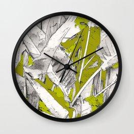 PURA VIDA ARMY Wall Clock