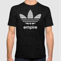 Star Wars-Empire Tri-Black Mens Fitted Tee LARGE