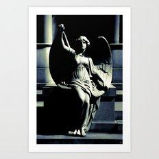 Art Deco Angel Art Print