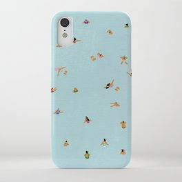 Dusty blue iPhone Case