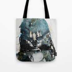 Tousled bird mad girl 2 Tote Bag