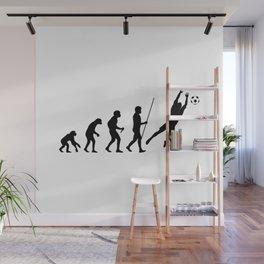 Goalkeeper Evolution Wall Mural