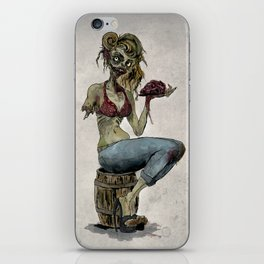 Pinup Zombie Girl iPhone Skin