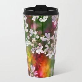 Floral Splash Travel Mug