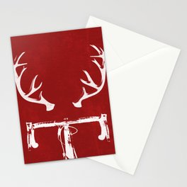 Deer Bike Stationery Cards