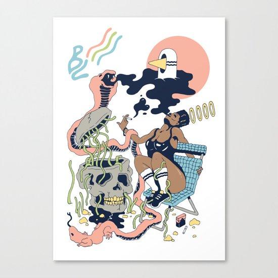 Pure Heat Canvas Print