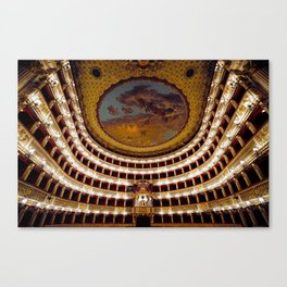 Royal Theatre of Saint Charles Canvas Print