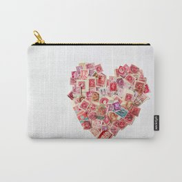 Sending Out A Love Letter - Stamps Carry-All Pouch