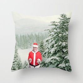 Merry Christmas, Colonel Sanders Throw Pillow