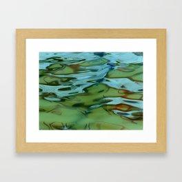 Mossy Waters Framed Art Print