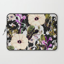 Flowery abstract garden Laptop Sleeve