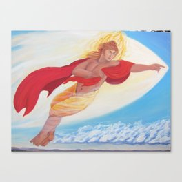 Apollo, Flying Canvas Print