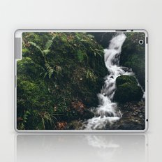 Stone bridge over waterfall near Stockghyll Force. Cumbria, UK. Laptop & iPad Skin