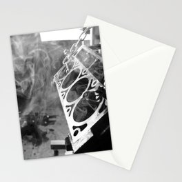 The man cave Stationery Cards