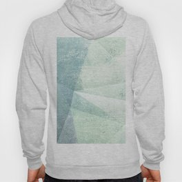 Frozen Geometry - Teal & Turquoise Hoody
