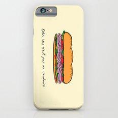 Ceci n'est pas un sandwich iPhone 6s Slim Case