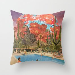 Ranch Days Throw Pillow