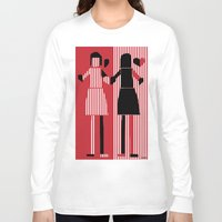 sisters Long Sleeve T-shirts featuring sisters  by sladja