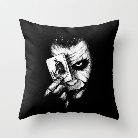 Joker Throw Pillow By Nickharriganartwork Society6