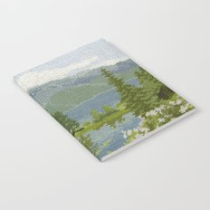 Found Tapestry Notebook
