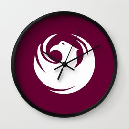 Phoenix City Flag Wall Clock
