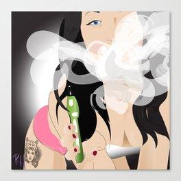 Vape Queen 2  Canvas Print