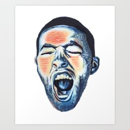 """GO:OD AM"" - Mac Art Print"