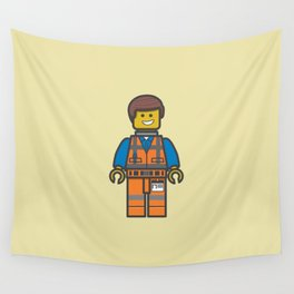 #10 Emmet Lego Wall Tapestry
