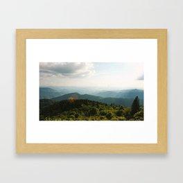 Blue Ridge Beauty Framed Art Print