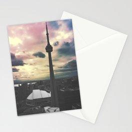Toronto CN Tower Color Split Stationery Cards