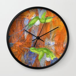 Some of Them Wear Pouffy Pants Wall Clock