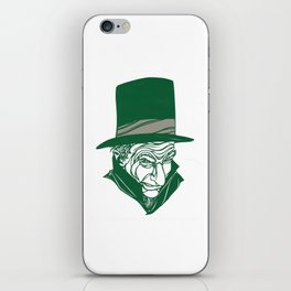 A Christmas Carol: Scrooge iPhone Skin