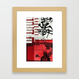 red series 2 Framed Art Print