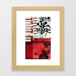 red series 2 Framed Art Print