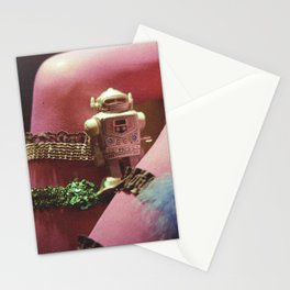 ot otto or robot Stationery Cards