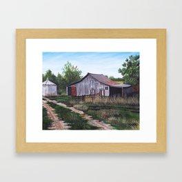 Brooks farm Framed Art Print