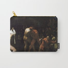 Michael Sweerts - Wrestling Match Carry-All Pouch