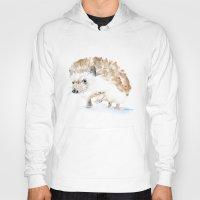hedgehog Hoodies featuring Hedgehog by Susan Windsor