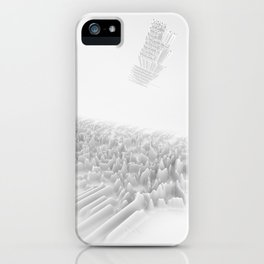 Unknown Pleasures Inspired iPhone Case