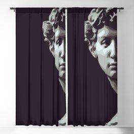 Michelangelo's David Blackout Curtain