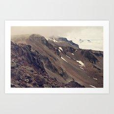 Rocky Mountain Hike Art Print