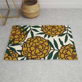 Yellow Marigolds Rug