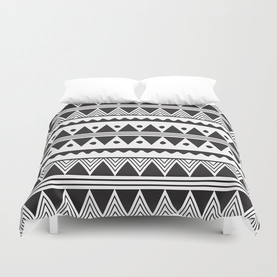 African Tribe Pattern No. 2 Duvet Cover