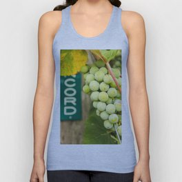 Green Concord Grapes Unisex Tank Top
