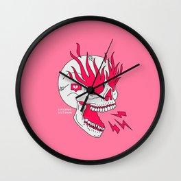 Skull Girl Classic Tattoo Wall Clock